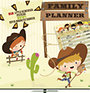 Cowboys - Family Planner