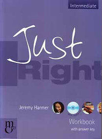 Jeremy Harmer: Just right workbook with answer key - Intermediate (with audio cd)