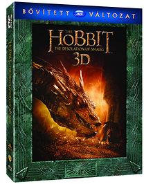 A hobbit: Smaug pusztasága - Bővített Kiadás - 3D Blu-ray