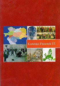 Vitári Zsolt, Bene Krisztián, Sarlós István: Kutatási füzetek 15.