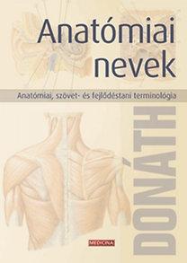 Dr. Donáth Tibor: Anatómiai nevek A-Z (6.k.)