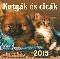 Kutyák és cicák 2015 - Naptár