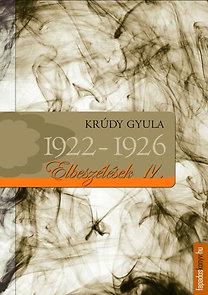 Krúdy Gyula: Krúdy elbeszélések IV. - 1922-1926