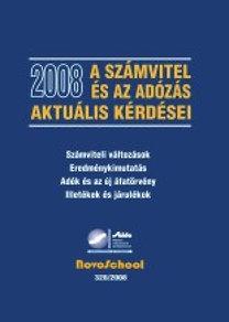 A számvitel és az adózás aktuális kérdései 2008