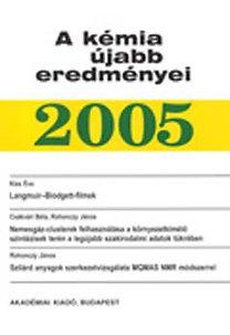 Dr. Kiss Éva: A kémia újabb eredményei 95. kötet