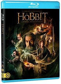 A hobbit: Smaug pusztasága (Blu-ray)