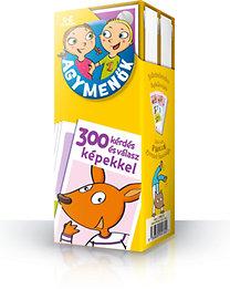 Agymenők - 5-6 éves gyerekeknek, 300 kérdés és válasz