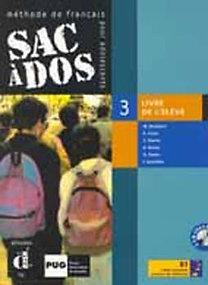 Butzbach, Martín, Pastor, Saracíbar: Sac á dos 3 - Tankönyv + 2db Audio-CD