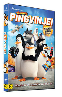 A Madagaszkár pingvinjei - DVD