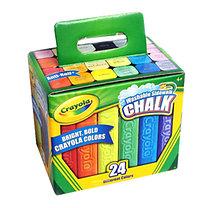 Crayola: Crayola: Lemosható aszfaltkréta 24 db-os készlet dobozban (40252)
