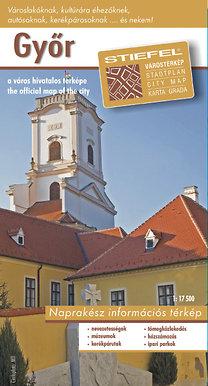 Stiefel Eurocart Kft.: Győr város térképe