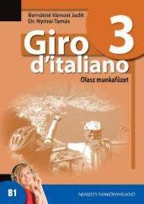 Dr. Nyitrai Tamás, Bernátné Vámosi Judit: Giro d'italiano 3. Olasz munkafüzet - NT-56553/M
