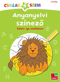 Anyanyelvi színező - Főnév, ige, melléknév