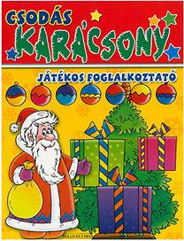 Csodás karácsony - játékos foglalkoztató