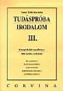 Vasné Tóth Kornélia: Tudáspróba. Irodalom II.