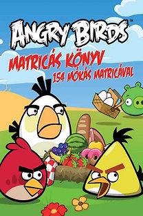 Angry Birds matricás könyv - 154 mókás matricával