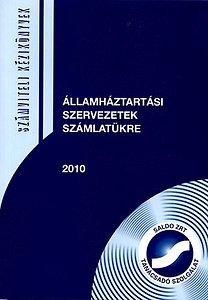 Lilliné Fecz Ildikó: Államháztartási szervezetek számlatükre 2010