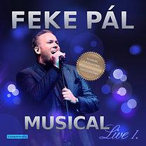 Feke Pál: Musical Live 1. - CD