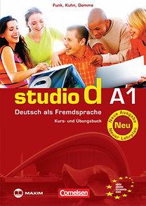 Christina Kuhn, Silke Demme, Hermann Funk: studio d A1 - Deutsch als Fremdsprache - Kurs- und Übungsbuch - MX-157