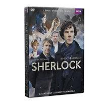 Sherlock díszdoboz 1. évad (3 DVD)