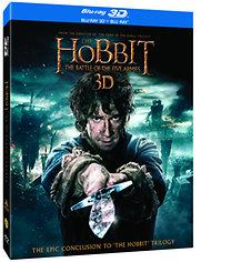 A hobbit: Az öt sereg csatája - 3D Blu-ray Steelbook (2 BD3D + 2 BD)