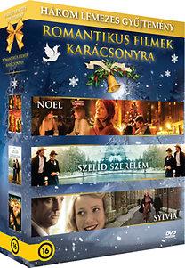 Romantikus filmek karácsonyra díszdoboz