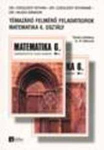 Dr. Czeglédy István, Dr. Hajdu Sándor, Czeglédy Istvánné: Témazáró felmérő feladatsorok - Matematika 6. osztály - Tanári példány