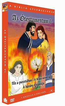 A Biblia gyermekeknek - Az Ótestamentum 6. - Tűz a pusztában / A Nílus vérré válik / A bárány éjszakájaeg