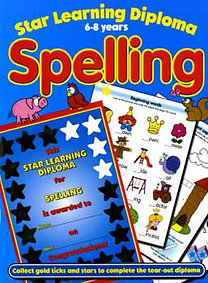 Claire (illusztrálta) Philpott: Spelling - 6-8 years - Star Learning Diploma