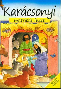 Sally Ann Wright: Karácsonyi matricás füzet