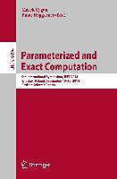 Parameterized and Exact Computation