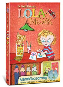 D. Tóth Kriszta: Lolamesék - 2 lemezes prémium kiadás DVD+CD