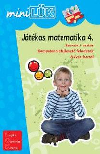 Török Ágnes (szerk.): Játékos matematika 4. - Szorzás / osztás