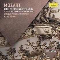 Mozart: Kis éji zene K.525; Serenata Notturna K.239, Postakürt-szerenád K.320