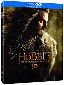 A hobbit: Smaug pusztasága (3D Blu-ray)
