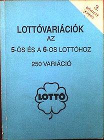Lottóvariációk az 5-ös és a 6-os lottóhoz-250 variáció