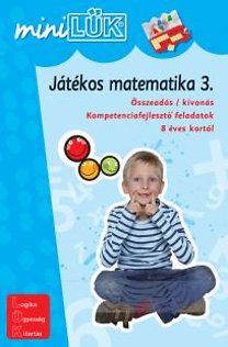 Török Ágnes (szerk.): Játékos matematika 3. - Összeadás / kivonás - LDI-220