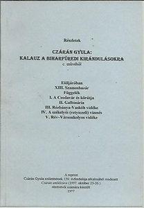 Czárán Gyula: Kalauz a Biharfüredi kirándulásokra ( részletek Czárán Gyula művéből) reprint