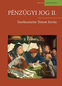 Simon István: Pénzügyi jog II.