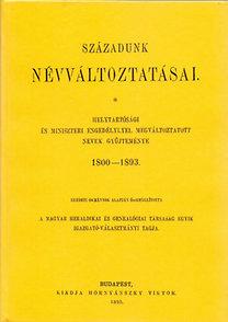 Szentiványi Zoltán: Századunk névváltoztatásai