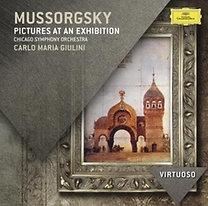 Muszorgszkij, : Egy kiállítás képei (Ravel hangsz.); Éj a kopár hegyen; Borisz Godunov – Koronázási jelenet (Stokowski átirata)