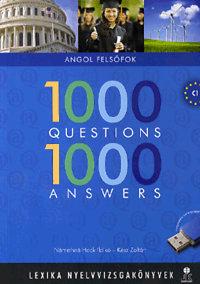 Némethné Hock Ildikó, Kész Zoltán: 1000 Questions 1000 Answers - felsőfokú nyelvvizsgákhoz