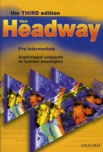 Liz and John Soars: New Headway - Pre-Intermediate - The third edition - Angol-magyar szójegyzék és nyelvtani összefoglaló