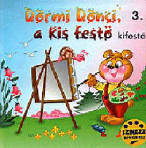 Sánta Zsolt: Dörmi Dönci a kis festő-Kifestő 3.