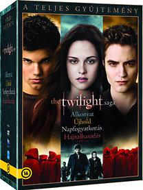 Twilight - A teljes gyűjtemény - 5 lemezes kiadás