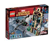 LEGO® Super Heroes Spider-Man™: Leszámolás a Hírharsona előtt (76005)