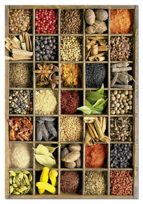 Educa: Puzzle 1000# - Fűszerek