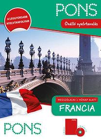 Anne Braun: PONS - Megszólalni 1 hónap alatt - Francia (könyv + CD)