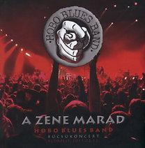 Hobo Blues Band: A zene marad - Búcsúkoncert (könyv + CD)