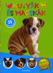 Kutyák és macskák - 35 matricával